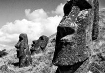 Myths and Legends of the moai on the Easter Island- Rapa Nui