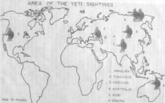 Myth and Folklore of the Yeti