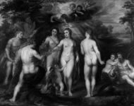 CYPRUS: TREELORE – Trees associated with Aphrodite on Cyprus The Judgement of Paris. about 1597-9, Peter Paul Rubens